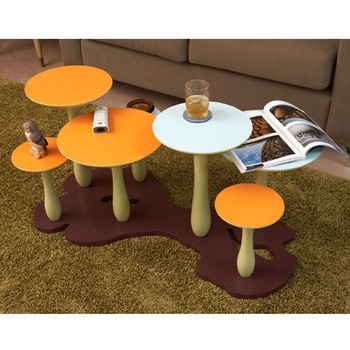 The Mushroom Forest Cool Coffee Tableskids