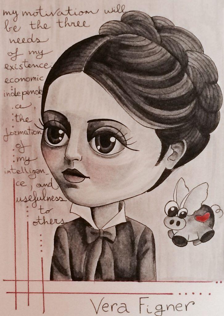 Feminist icons serie: Vera Figner