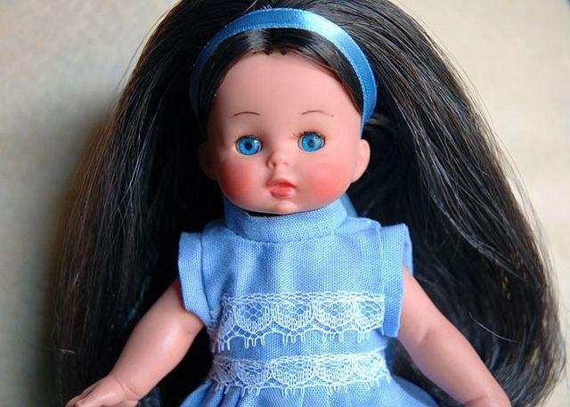 Lisa-Furga mini doll