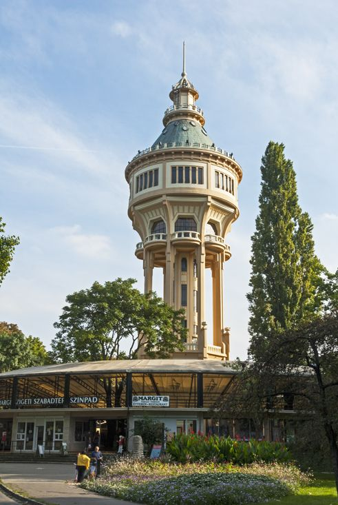 Margaret Island's water tower, #Budapest http://www.thecrowdedplanet.com/7-things-margaret-island/