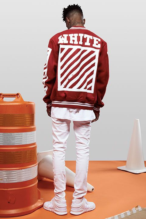 21 Savage in Off-White.
