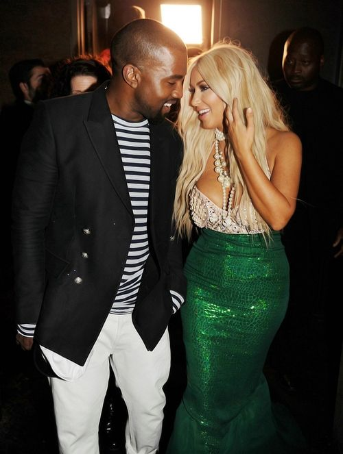 """Kim's Twitter: """"Me & my captain!""""    Best couple costume! Adorable! Kimmy looked GORGEOUS and Kanye made a good-looking captain  #KimKardashian #KimYe #Halloween"""
