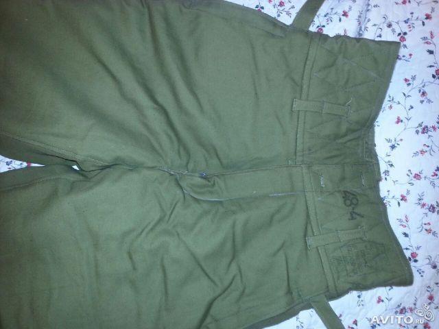 Камуфляжные штаны утепленные