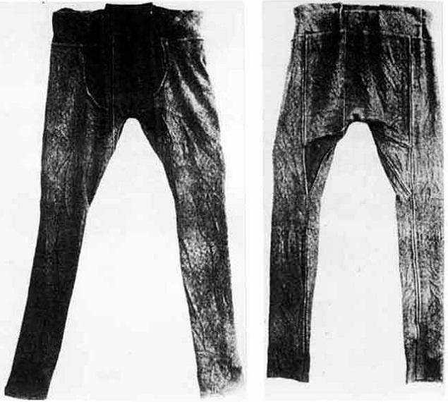 The Damendorf woollen breeches, 4th century