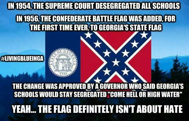 georgia state flag old