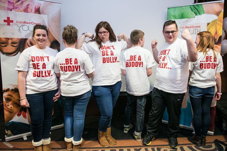 The Irish Red Cross Youth anti-bullying campaign 'Don't be a Bully, be a Buddy' was officially launched on the 30th November 2013 and is now being used by Youth groups around Ireland.