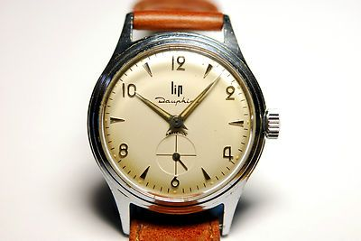 ancienne montre bracelet lip incabloc pour homme mcanique. Black Bedroom Furniture Sets. Home Design Ideas