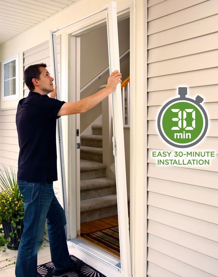 1000 Ideas About Retractable Screen Door On Pinterest