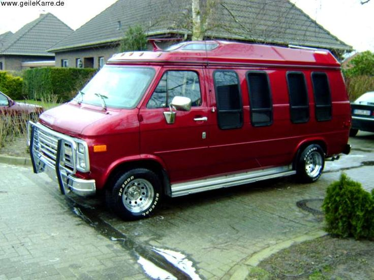 1993 Chevy G20 Conversion Van | CHEVROLET Van G20
