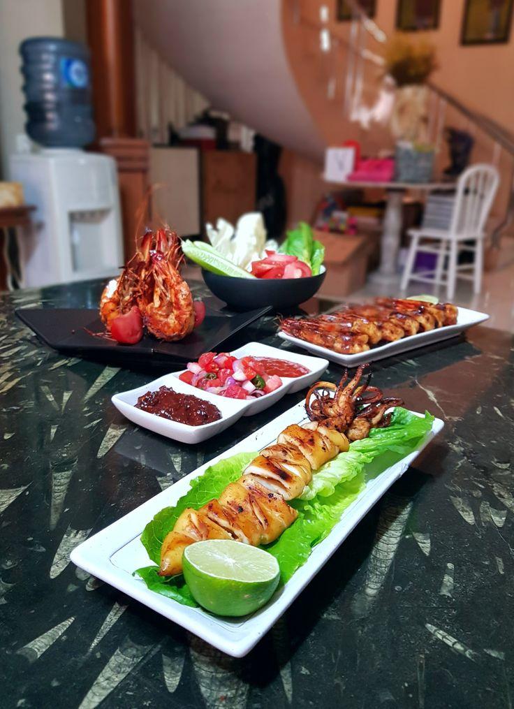 """""""Cumi Bakar Madu"""", Tjitra's Kitchen, Jakarta"""