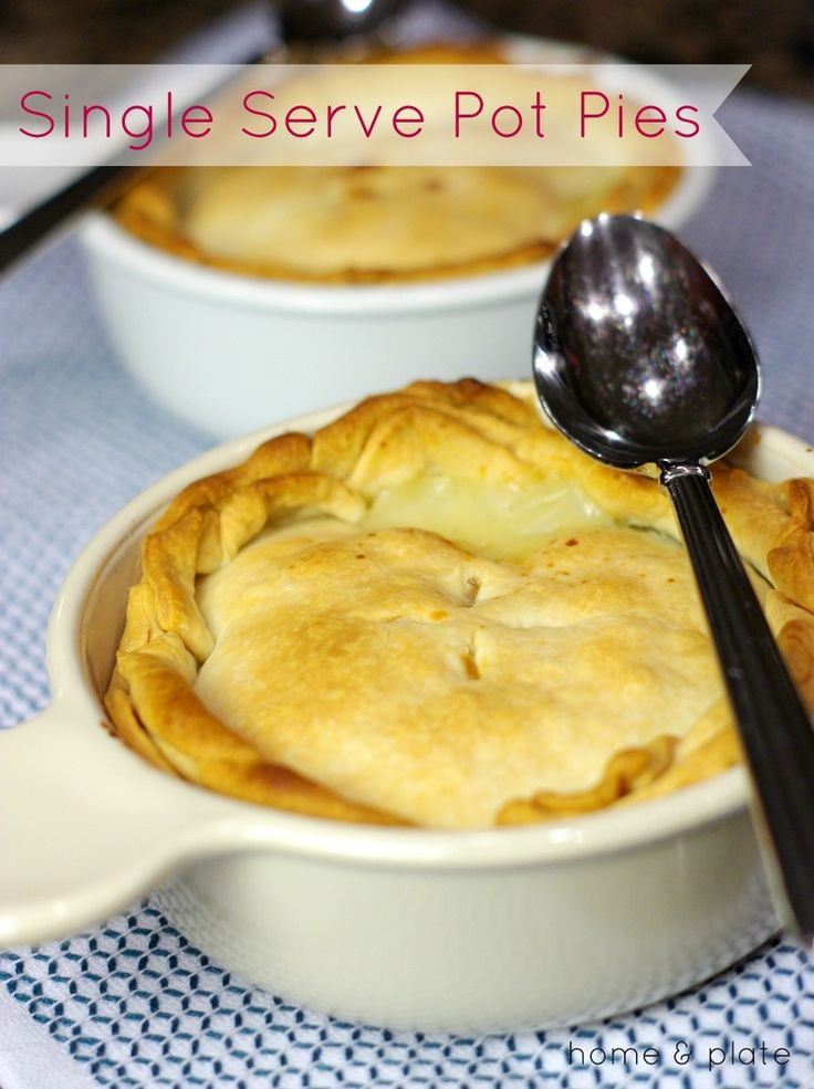 Individual Chicken Pot Pies — Home & Plate - Fresh Ideas & Simple Recipes