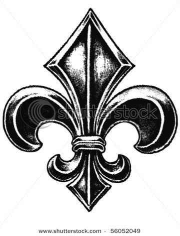 Fleur De Lis Is A Stylized Lily   In French Fleur Means Flower