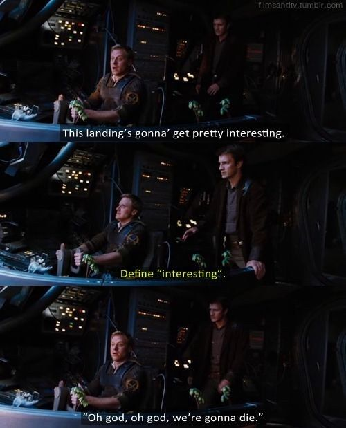 """And both of them were always cool under pressure. 