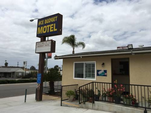 Ace Budget Motel San Diego Set in San Diego, 10 km from Balboa Park, Ace Budget Motel features air-conditioned rooms and free private parking.  All rooms come with a flat-screen TV. Rooms are fitted with a private bathroom.