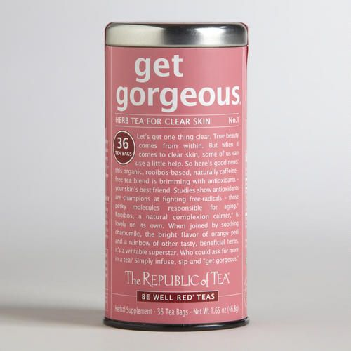 One of my favorite discoveries at WorldMarket.com: The Republic of Tea Get Gorgeous Red Tea, 36-Count