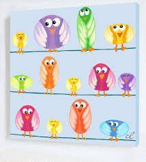 Résultats de recherche d'images pour «tableau oiseau enfant»