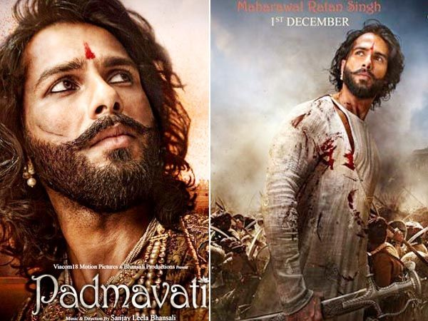 It got better when Shahid Kapoor announced last night that we'll meet Ratan Singh at dawn. And so we did! Shahid, Deepika and Ranveer together unveiled the first look of Maha Rawal Ratan Singh from Pa