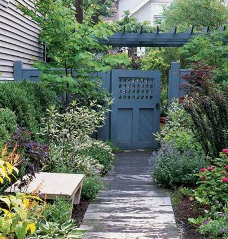 Wooden Tree Gate Design: Landscaping And Outdoor Building , Backyard Wooden Gate
