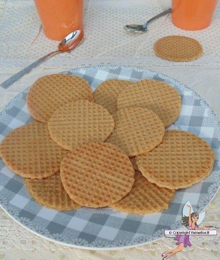 Strinj, gaufrette flamande. Recette de cuisine ou sujet sur Yumelise blog culinaire.