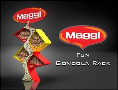 Nestle Maggi Fun Gondola; Designed & Produced By Display Power Global- Pakistan