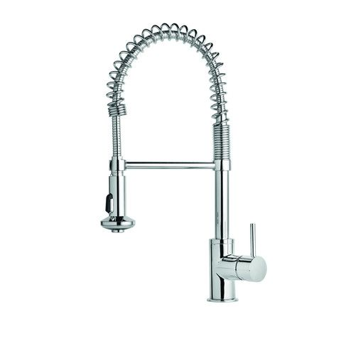 Felton Volo Spring Sink Mixer $302.98 Commercial design is a function-dictates-design approach with a spray button on the head as well as traditional mixer controls. Product code: VSMSPC