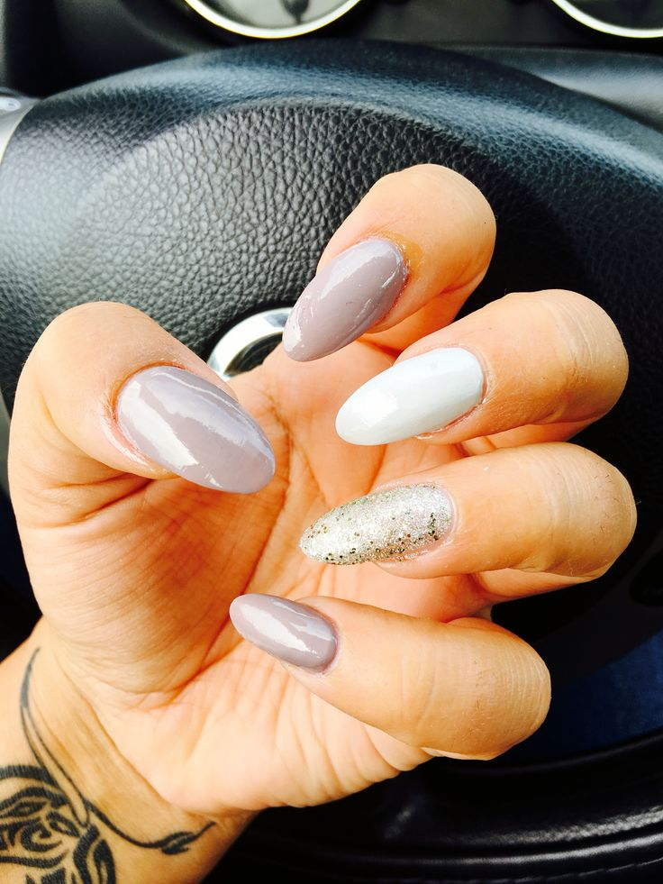 OPI Taupe Less Beach Oval Nails