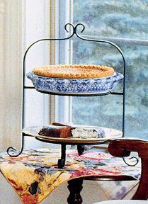 2- Tier Pie & Plate Rack