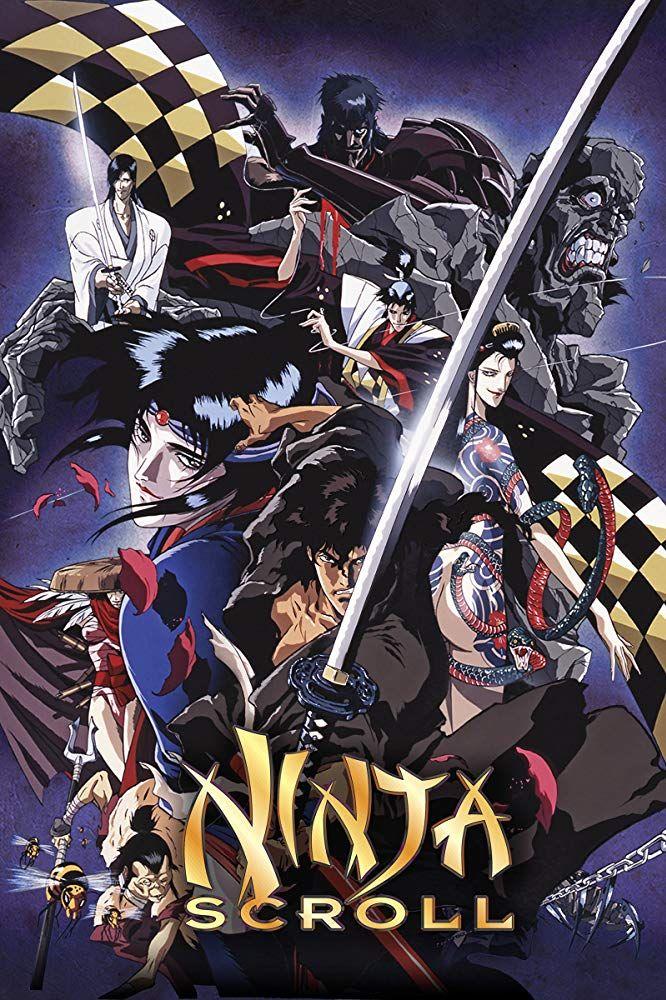 NinjaScroll Adventure Historical Horror Supernatural