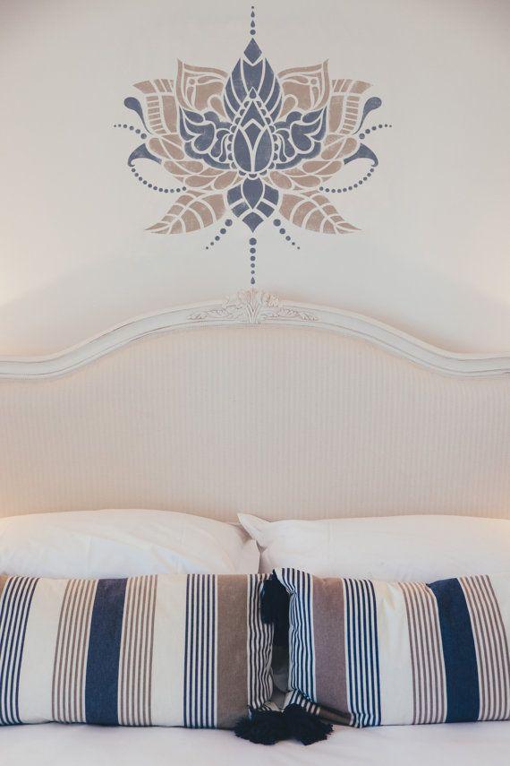 Las 25 mejores ideas sobre plantillas de pintura de pared - Muebles estilo indio ...