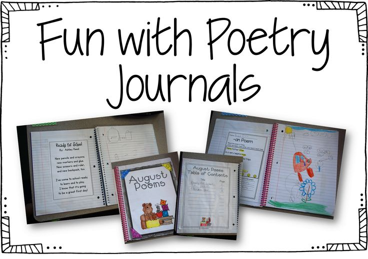 Something I have always done and LOVED to do is poetry journals. Im sure its nothing new to...