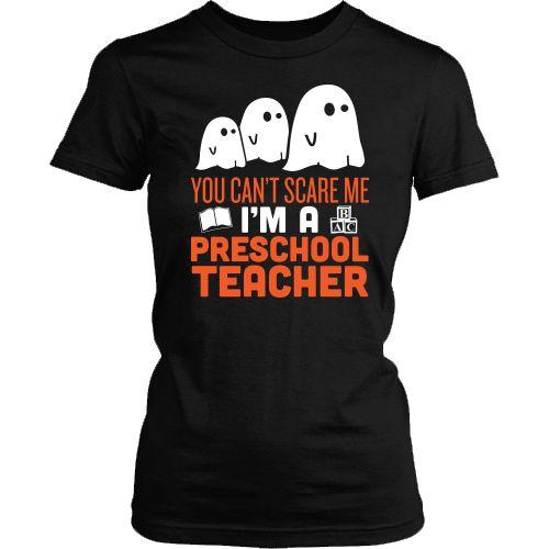 Preschool Teacher - Halloween Ghost