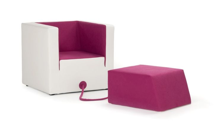 Decube / armchair / design Luca Binaglia / Formabilio