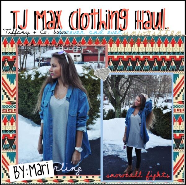 """Tj Max; Clothing Haul ♥"" by teenag3tips ❤ liked on Polyvore"