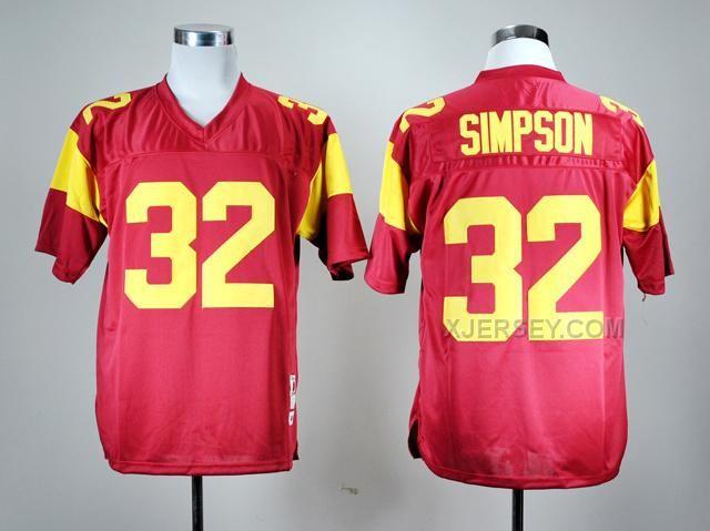 http://www.xjersey.com/usc-trojans-32-simpson-red-jerseys.html USC TROJANS 32 SIMPSON RED JERSEYS Only $37.00 , Free Shipping!