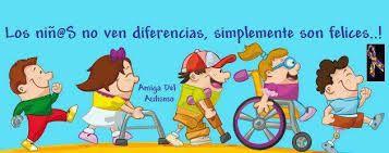 Resultado de imagen para imagenes animadas de niños con discapacidad intelectual