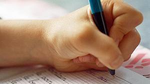 Füller, Hand, Kind, Kinder, Lehrer, Linkshänder, München, Sattler, Schreiben, Schrift