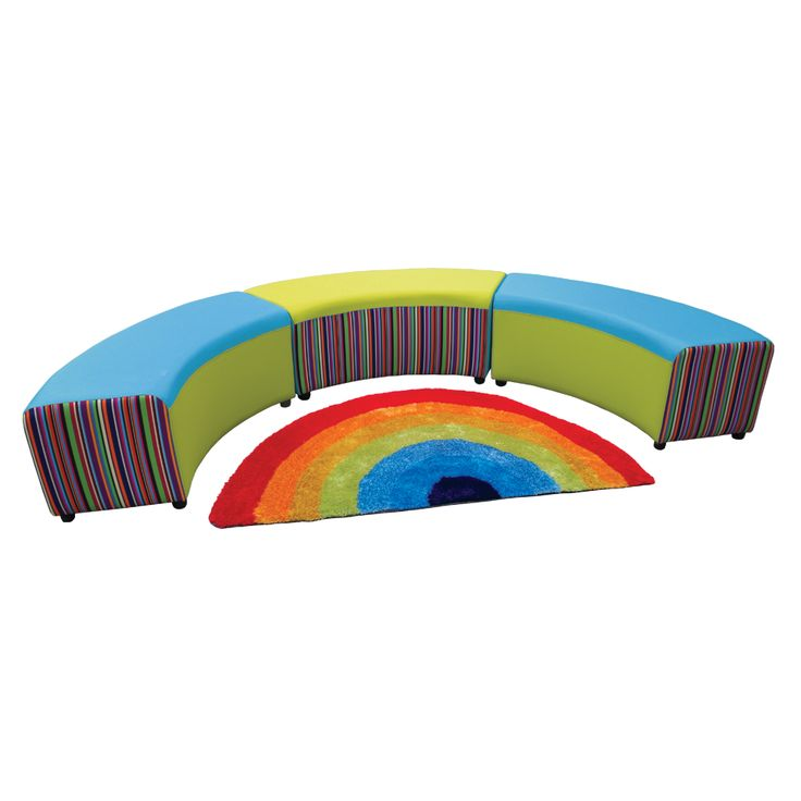 School Library Furniture: Reading Circle with FREE Rug