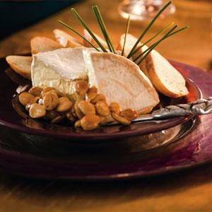 Saint André with Maple-Candied Marcona Almonds   Recipes   Pinterest