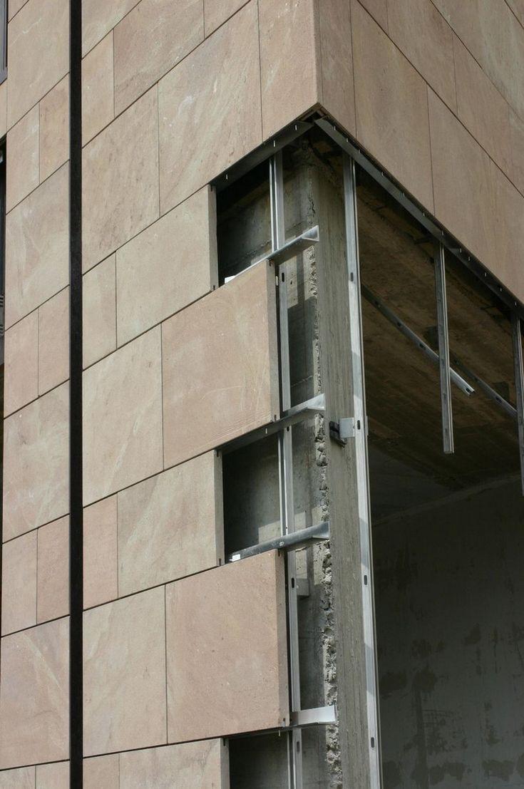 Fachada ventilada com cortinas – construção e custos   – Architektur