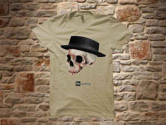 heisenberg skull a 100 cotton branded Tshirt in by communityshirt, $18.50