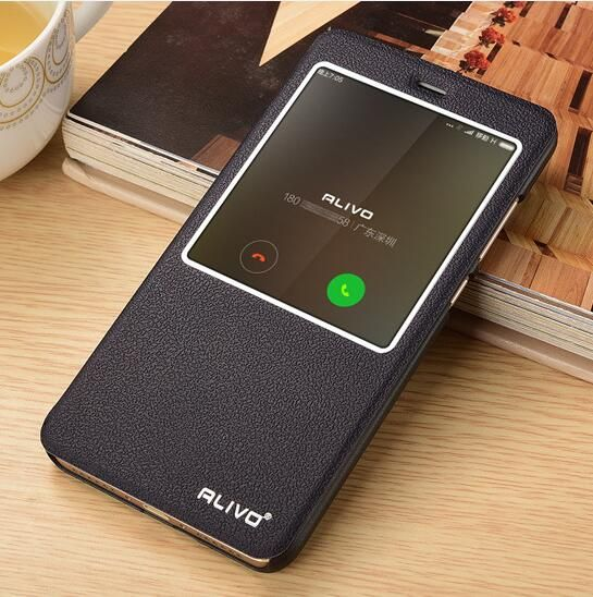 For Xiaomi Redmi Note 4 Case Helio X20 View Window PU Leather Flip Cover For Xiomi. Click visit to buy #FlipCase #case