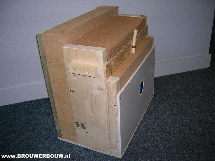Duurzame houtskeletbouw konstruktie