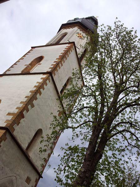 Church tower in Speyer