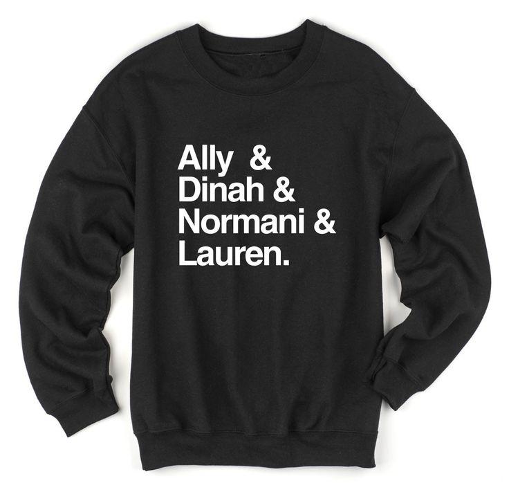 Ally Dinah Normani Lauren Sweatshirt (Fifth Harmony)
