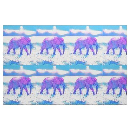 Pastel Lavender Elephant Fabric - bathroom idea ideas home & living diy cyo bath