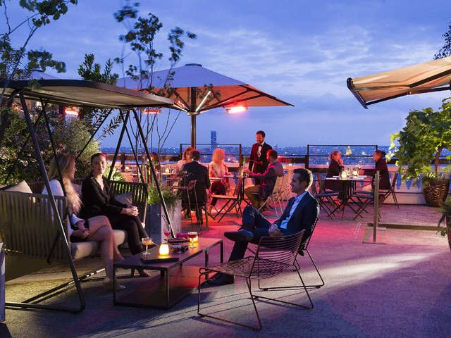 Terrass Hotel bar