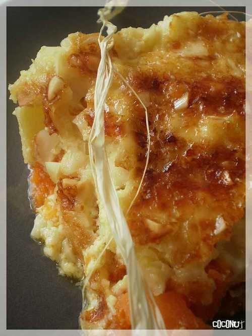 gratin de courge et patate douce
