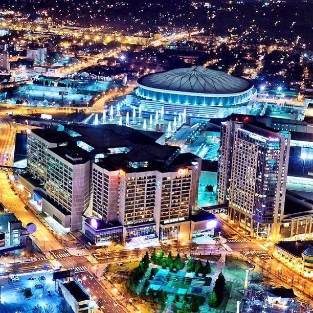 Georgia Dome ... stadium for the Atlanta Falcons and special events