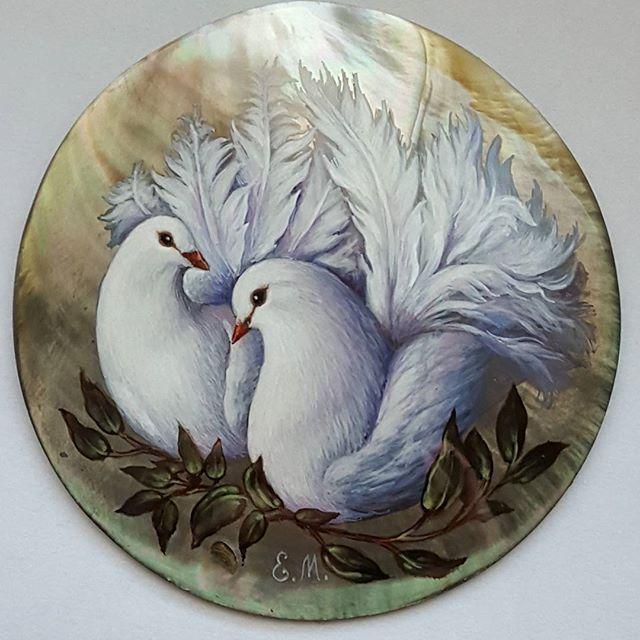 Голубки на заказ. #голуби #дваголубка