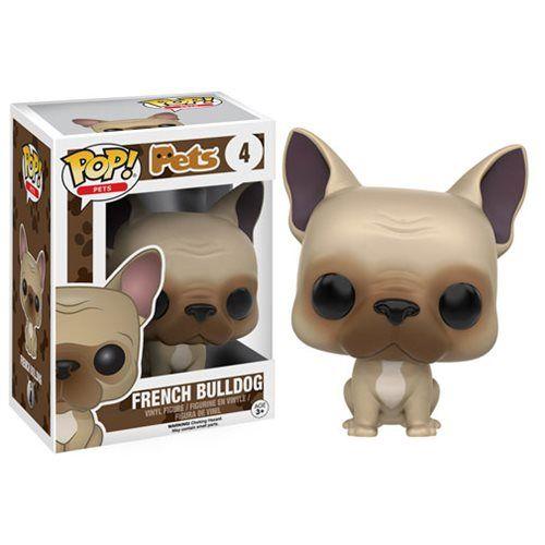 Pop! Pets French Bulldog Pop! Vinyl Figure - Funko - Animals - Pop! Vinyl Figures at Entertainment Earth